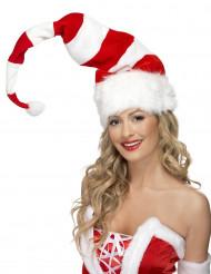 Berretto di Natale a righe adulto