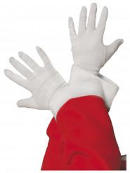 Guanti bianchi da Babbo Natale