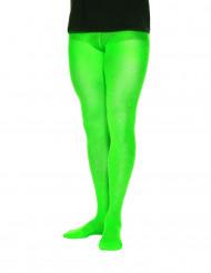 Collant opachi verdi uomo