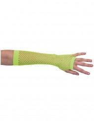 Mezzi guanti verdi San Patrizio donna