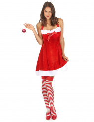 Costume Mamma Natale sexy donna