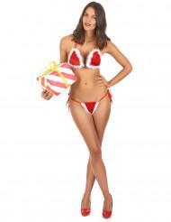 Costume da bagno di Natale sexy donna