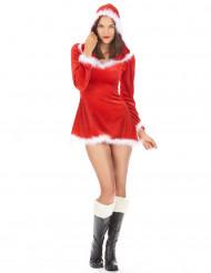 Costume Mamma Natale corto e sexy donna
