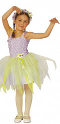 Costume da fata ballerina lilla per bambina