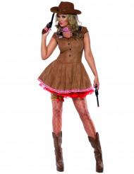 Costume fuorilegge del farwest per donna
