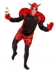 Costume coccinella adulto