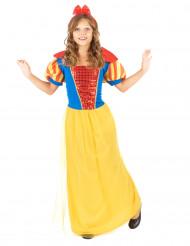 Costume principessa del bosco bambina