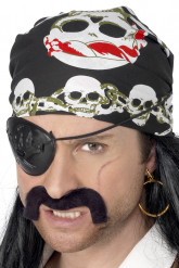 Bandana pirata adulto