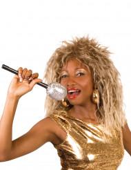 Parrucca cantante rock famosa donna