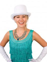 Cappello a cilindro bianco per adulti