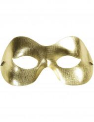 Maschera dorata adulto