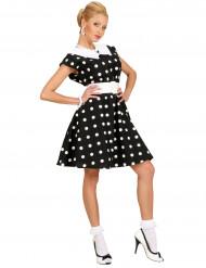 Costume a pois anni 60 donna