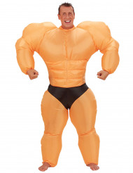 Costume gonfiabile da body builder adulto