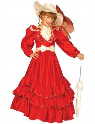 Costume marchesa rosso bambina