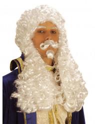 Parrucca bianca Francesco I