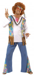 Costume Hippy Afro per uomo