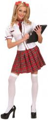 Costume da scolara per adulto