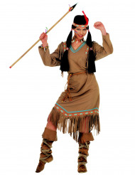 Costume indiana del nord america per donna