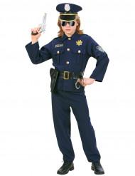 Costume poliziotto severo per bambino