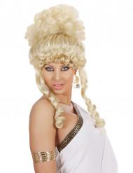 Parrucca da dea bionda donna