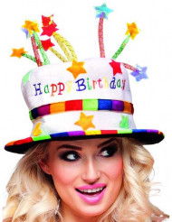 Cappello happy birthday per adulto