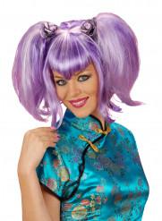 Parruca viola cinese donna