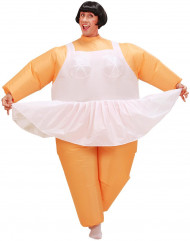Costume ballerina gonfiabile