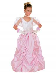 Costume da splendida principessa in rosa per bambina