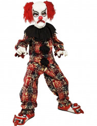 Costume clown terrificante bambino Halloween