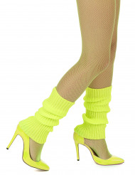 Scaldamuscoli gialli fluo per donna