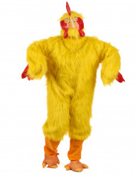 Costume mascotte pollo adulto