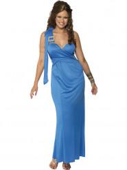 Costume abito greca blu donna