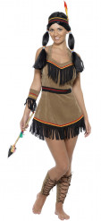 Costume da indiana cherokee per donna