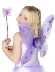 Kit farfalla viola ragazza