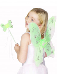 Image of Kit farfalla verde ragazza