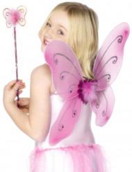Kit farfalla rosa ragazza
