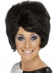 Parrucca nera alveare donna