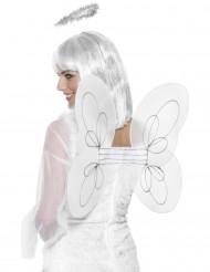 Ali bianche da angelo per adulto