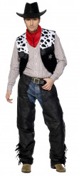 Costume cowboy copripantalone uomo