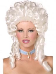 Parrucca barocca bianca donna
