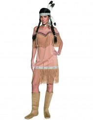 Costume indiana a frange donna
