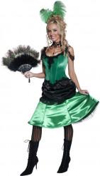 Costume cabaret francese cancan donna