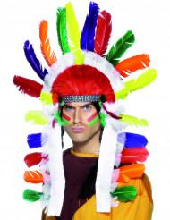 Copricapo da indiano multicolore per adulti