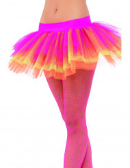 Tutù rosa, giallo e arancione donna