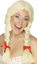 Parrucca scolaretta donna