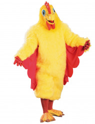 Costume mascotte da pollo adulto
