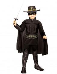 Costume Zorro™ muscoloso bambino