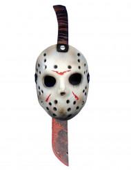 Macete e maschera Jason™ Venerdì 13™