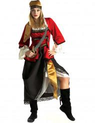 Costume da pirata deluxe per donna
