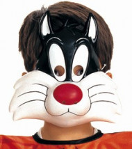 Maschera Gatto Silvestro™ bambino
